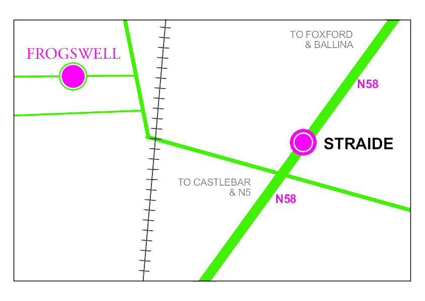 Graphical Map Straide to Frogswell
